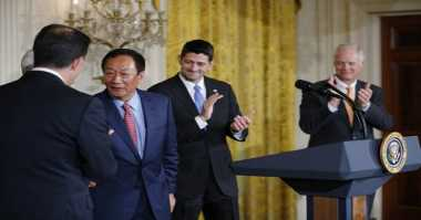 Sah! Foxconn akan Bangun Pabrik di AS Senilai Rp133 Triliun