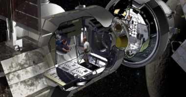 Kreatif! NASA Bakal Sulap Kontainer Kargo untuk Habitat di Luar Angkasa