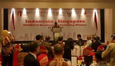 \50 Tahun Indonesia-Singapura, Menko Darmin: Saya Berharap Bisa Terus Berlanjut\