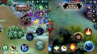 MOBILE LEGENDS: Digandrungi Para Gamer Mobile, Ini perbedaan Game Mobile Arena dan Mobile Legends