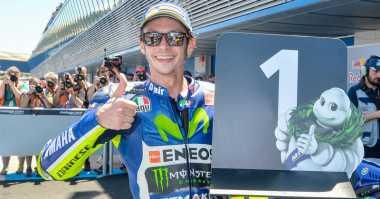 Tampil Gemilang di Ajang Balap Motor, Claudio Costa: Rossi Adalah Suatu Keajaiban Dunia