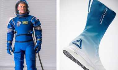Keren, Kini Sepatu Astronot Dirancang Lebih Modis
