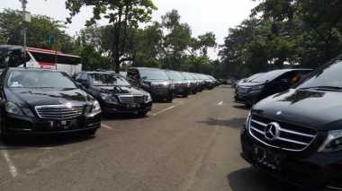 Duuh! 1.354 Mobil Mewah di Jakarta Tunggak Pajak