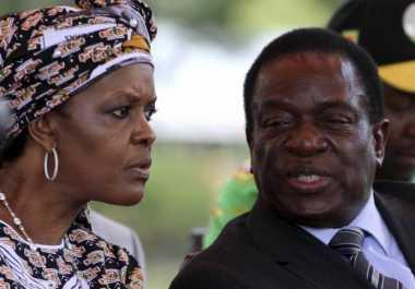 Ibu Negara Zimbabwe Tantang Suaminya Tunjuk Calon Pengganti