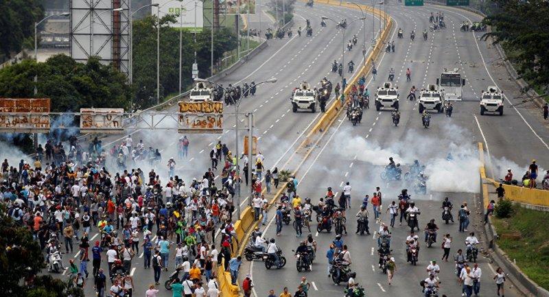 Venezuela Memanas, AS Keluarkan <i>Travel Warning</i> dan Evakuasi Warganya
