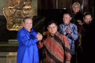 Sssttt, Prabowo Sebut Intelijen Pak SBY Masih Kuat