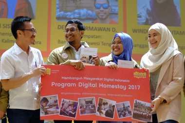 Indosat Ooredoo Lepas Peserta Homestay Karyawan 2017 ke Daerah Terpencil