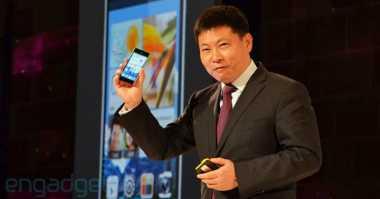 Wah, Bos Huawei 'Tantang' iPhone 8 di 'Kandangnya'