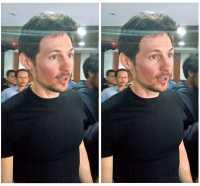 Keren! Kaos Oblong hingga Foto <i>Selfie</i> Jadi Kehebohan saat CEO Telegram Sowan ke Kemenkominfo