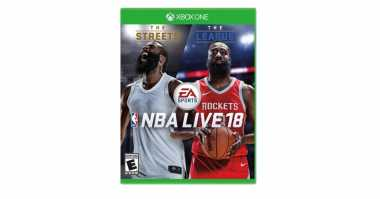 Terungkap! Cover NBA Live 18 di Xbox One Tampilkan James Harden