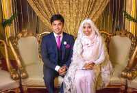 VIRAL! Pengantin Wanita Muslim Tampil Tanpa Make-Up di Hari Pernikahan, Alasannya Bikin Kagum
