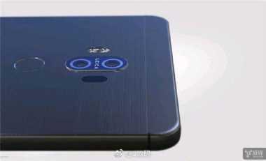 Inikah Wujud Penantang Galaxy Note 8 dan iPhone 8 dari Huawei?