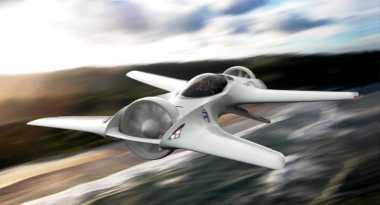 Mantap! Produsen Mobil 'Penjelajah Waktu' kini Bikin Mobil Terbang