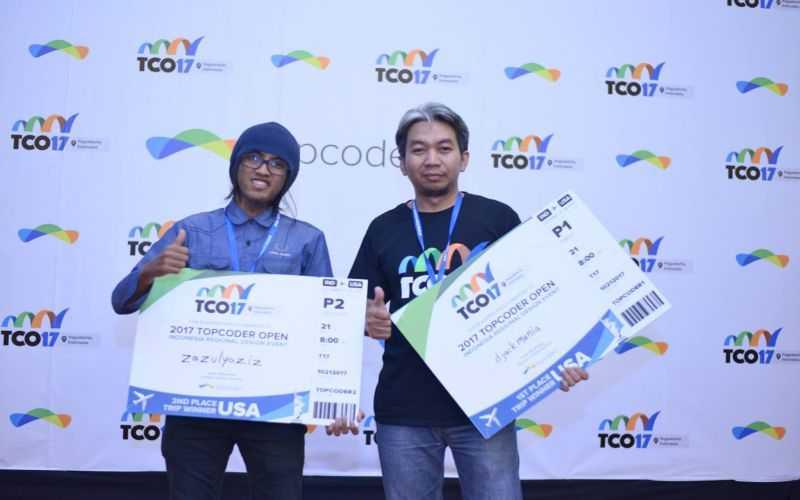 Mantap! Mahasiswa Yogyakarta Maju ke Final Top Coder Open di New York
