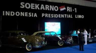 HARI MERDEKA: Deretan Mobil Dinas Bung Karno (1), Ada Pula Hadiah dari Presiden Uni Sovyet