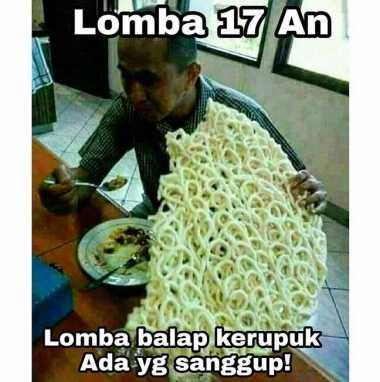 Duh! 6 Meme Lomba 17-an Besutan Netizen Indonesia Bikin Enggak Habis Pikir