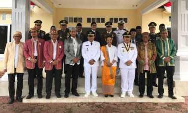 \HARI MERDEKA: Tidak Hanya Pantau Infrastruktur, Menteri BUMN Juga Jadi Inspektur Upacara di Halmahera Timur\