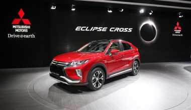 TOP AUTOS: Unik, Tunggu Gerhana Matahari untuk Mengungkap Sosok SUV Eclipse Cross