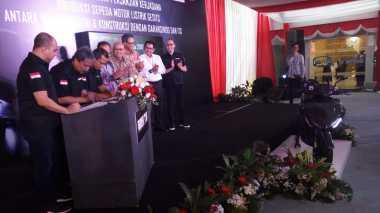 Diproduksi 100 Ribu Unit per Tahun, Skuter Listrik Made In Bogor Ini Bakal Go International