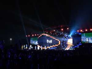 Kolaborasi GAC dan J-Flow Warnai Kemeriahan Countdown Asian Games 2018