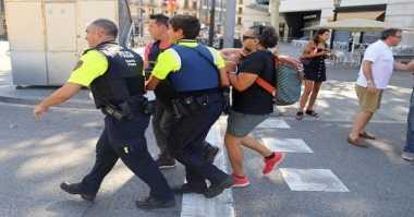 Sedih! Doa dan Dukungan Netizen Bergema untuk Teror Barcelona
