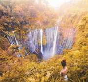 UNCOVER INDONESIA: Eksplor Keindahan Air Terjun Tumpak Sewu, Serpihan Surga di Lumajang