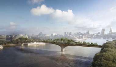 \London Garden Bridge, Proyek USD260 Juta yang Ditolak Pemerintah\
