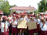 Berkat Gerak Cepat Kementerian ESDM, Desa Tomuan Holbung Kini Merdeka dari Gelap Gulita