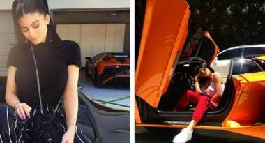 Cantik & Tajir! Kylie Jenner Tambah Koleksi Supercar, Kali Ini Lamborghini