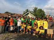 Rayakan Kemerdekaan, Warga Sambut Antusias Turnamen Voli Perindo Lubuklinggau