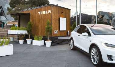 \Wow, Tesla Bangun Rumah Mini Bertenaga Surya\