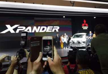 Rekor! Gara-Gara Xpander, Mitsubishi Jual 6.374 Mobil di GIIAS 2017