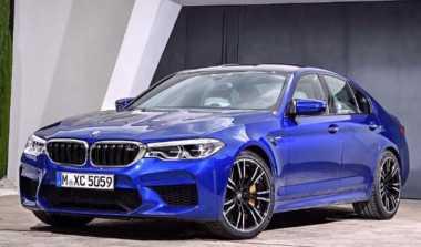 Jelang Debut Global, Gambar BMW M5 Terbaru Bocor