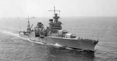 Wow! Pendiri Microsoft Temukan Bangkai Kapal Perang Dunia II Milik Amerika Serikat