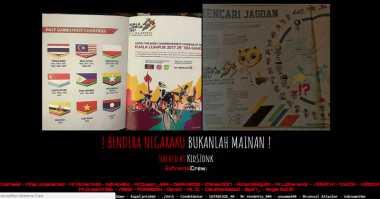 Waduh! Pasang Bendera Terbalik, Giliran Hacker Indonesia Retas Situs Malaysia
