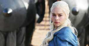 Emilia Clarke Sedih Kehilangan Satu Naga pada Episode 6 <i>Game of Thrones</i>
