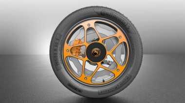 Canggih! Ban Masa Depan untuk Mobil Listrik Ini Bisa Sekaligus Nge-Charge Baterai