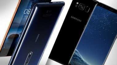 """Wih! Samsung  dan Nokia Berhasil """"Goyang"""" Posisi Apple"""