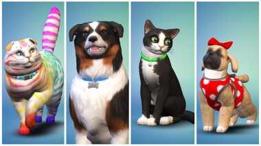 Lucu! Kini Bisa Pelihara Binatang di Game The Sims 4