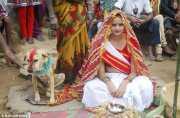 Demi Hilangkan Kutukan, Seorang Remaja 18 Tahun di India Menikahi Anjing Liar