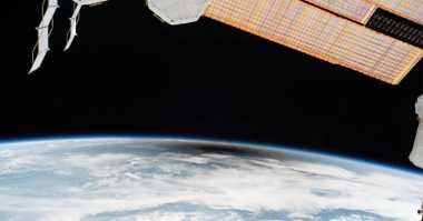 Luar Biasa! Ini Jadinya saat Gerhana Matahari 2017 Dilihat dari Ruang Angkasa