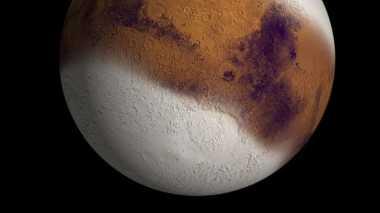 Studi Terbaru: Planet Mars Terdapat Salju, Kok Bisa?