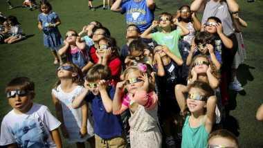 NASA: 4,4 Juta Orang Menikmati Gerhana Matahari Total 2017