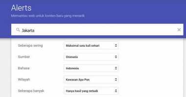 Nih! Cara Mudah Pakai Google Alert yang Jarang Diketahui Pengguna