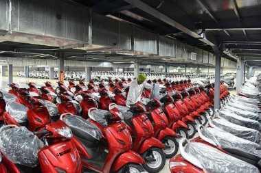 Geser Posisi Indonesia, India Jadi Pasar Motor Honda Terbesar di Dunia