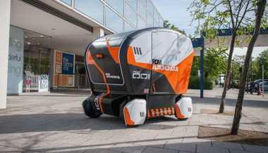 Bisa Nyetir Sendiri, Mobil Canggih Ini Siap Antar Lansia Kemana pun