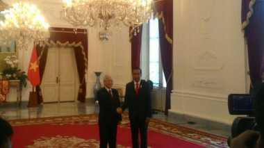 \Jokowi Bertemu Sekjen Partai Komunis Vietnam, Bahas Kerjasama Ekonomi?\