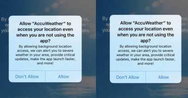 Ya Ampun! Aplikasi Peramal Cuaca Ini Ternyata Bagikan Data Pengguna