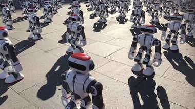 Seru! Ribuan Robot Menari Bersama dan Pecahkan Rekor Dunia