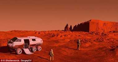 Duh! Astronot Masa Depan Waspadai Suhu Dingin di Mars